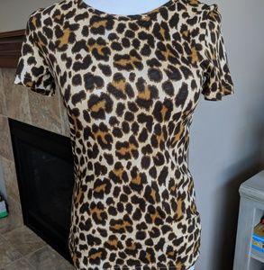J crew leopard t shirt